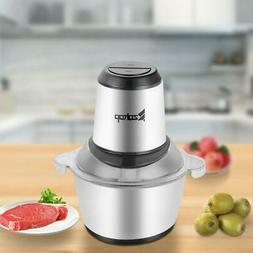 2L Home Multi Use Food Chopper Meat Grinder Electric Process