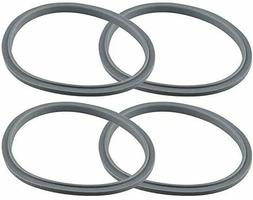 4 Pack Gray Gaskets Replacement Parts for NutriBullet NB-101