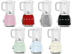 SMEG 50's Retro Style Aesthetic 1.5 Lt 6 Cup 4 Speed 600W Bl