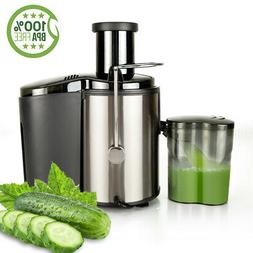 800W Electric Juicer Fruit Vegetable Blender Juice Extractor