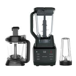 Ninja BL480 1-Speed Blender 1000W Digital Timer Whole Fruits