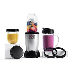 Magic Bullet Blender, Small, Silver, 11 Piece Set,FREE SHIPP