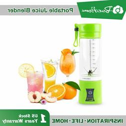 Juicer Cup Mini Electric Portable USB Rechargeable Juice Ble