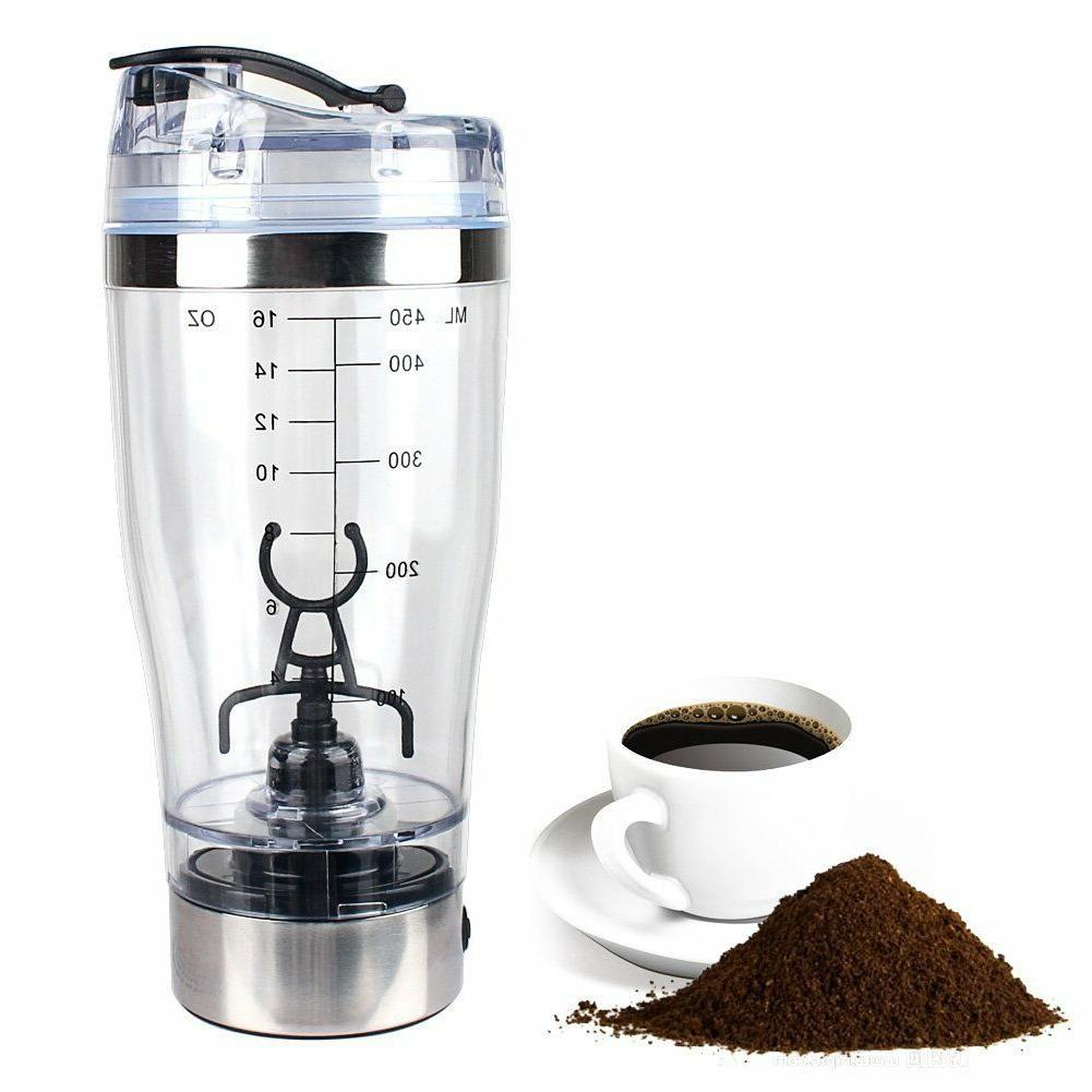 electric automatic protein mixer portable shaker detachable