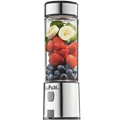 portable blender shakes and smoothies stainless steel