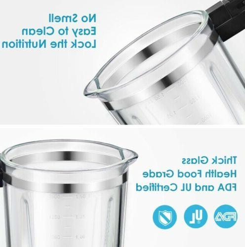 AICOOK Smoothie Heavy Duty Jar For And Vegetables