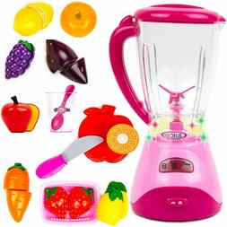 New Electric Realistic Fruit Blender Kitchen Appliance Toy S