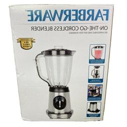 Farberware On-the-Go Cordless 2-Speed Blender with Pulse Con