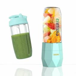 Greenis Portable Blender, USB Rechargeable Single Serve Blen