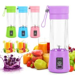 Portable Mini Blender Smoothie Juicer Cup Personal Single Se