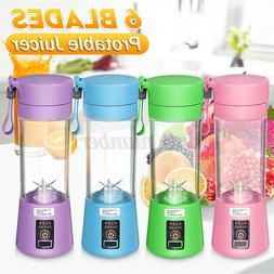 Portable Personal Blender Juicer Mix Blend Rechargeable Jet