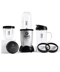 Magic Bullet Small Blender Small - Silver, Set of 11 Pieces